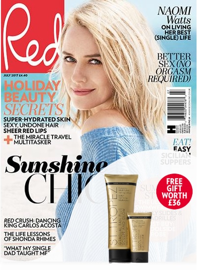 Subscribe today and get six issues for just £9.99 plus receive a St.Tropez gradual tan plus duo