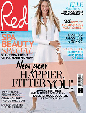 Subscribe to Red today for just £9.99 for 6 issues* and receive a Bliss Triple Oxygen Energizing Serum, worth £52!