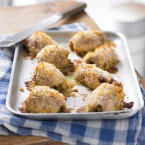 Fay Ripley's Italian crispy stuffed chicken