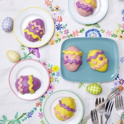 Mini Easter Egg Cakes Red Online
