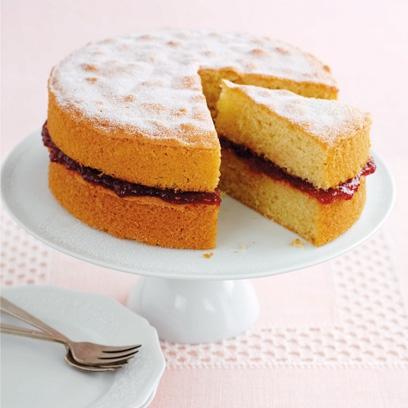 Coconut Sponge Cake Mary Berry