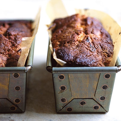 Chocolate Muscovado Banana Cake Food