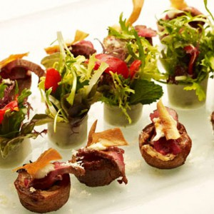 Canap recipes party food ideas from red online red online for Best canape book