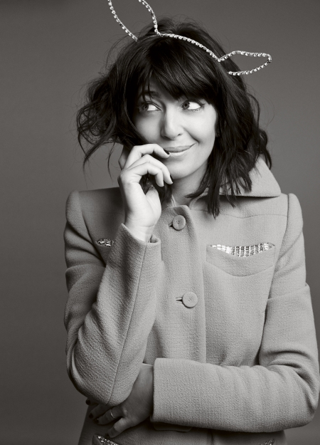 Claudia Winkleman in Red magazine