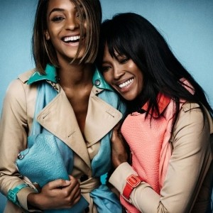 Jourdan Dunn and Naomi Campbell are Burberry's latest stars