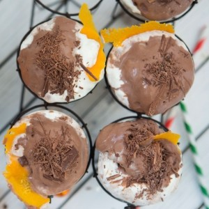 Chocolate Orange and Bourbon Milkshake