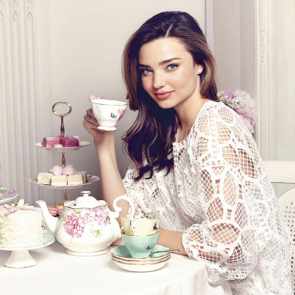 Miranda Kerr How I Take Tea Celebrity Interview Red
