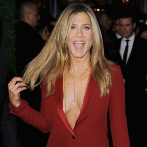 Jennifer Aniston Steals The Show In A Gucci Suit