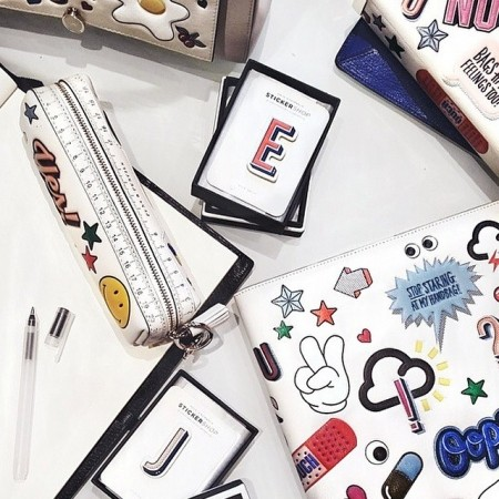 All Over Stickers Georgiana by Anya Hindmarch
