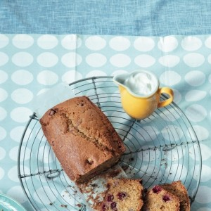 Orange and cranberry teacake recipe