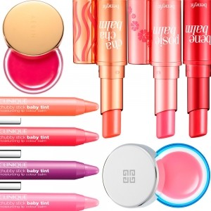 Our favourite tinted lip balms
