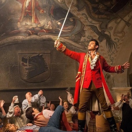 Hear Gaston sing in Beauty and the Beast for the first time