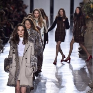 Topshop Unique AW15 show at LFW