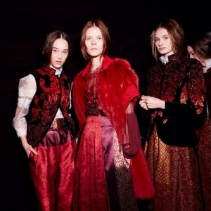 Alberta Ferretti AW15 show at Milan fashion week