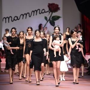 Dolce & Gabbana AW15 show at MFW