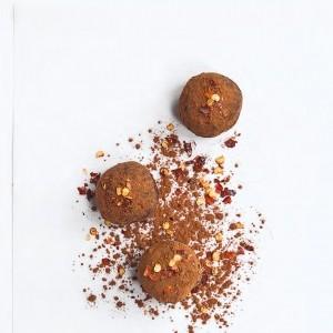 Chilli and cinnamon truffles recipe