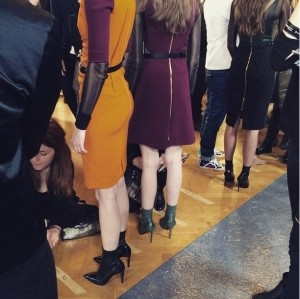 Roland Mouret AW15 show at PFW