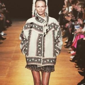 Isabel Marant AW15 show Paris Fashion Week