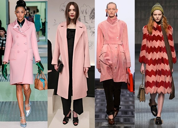 How to wear the pink coat | Fashion Week AW15 - Red Online