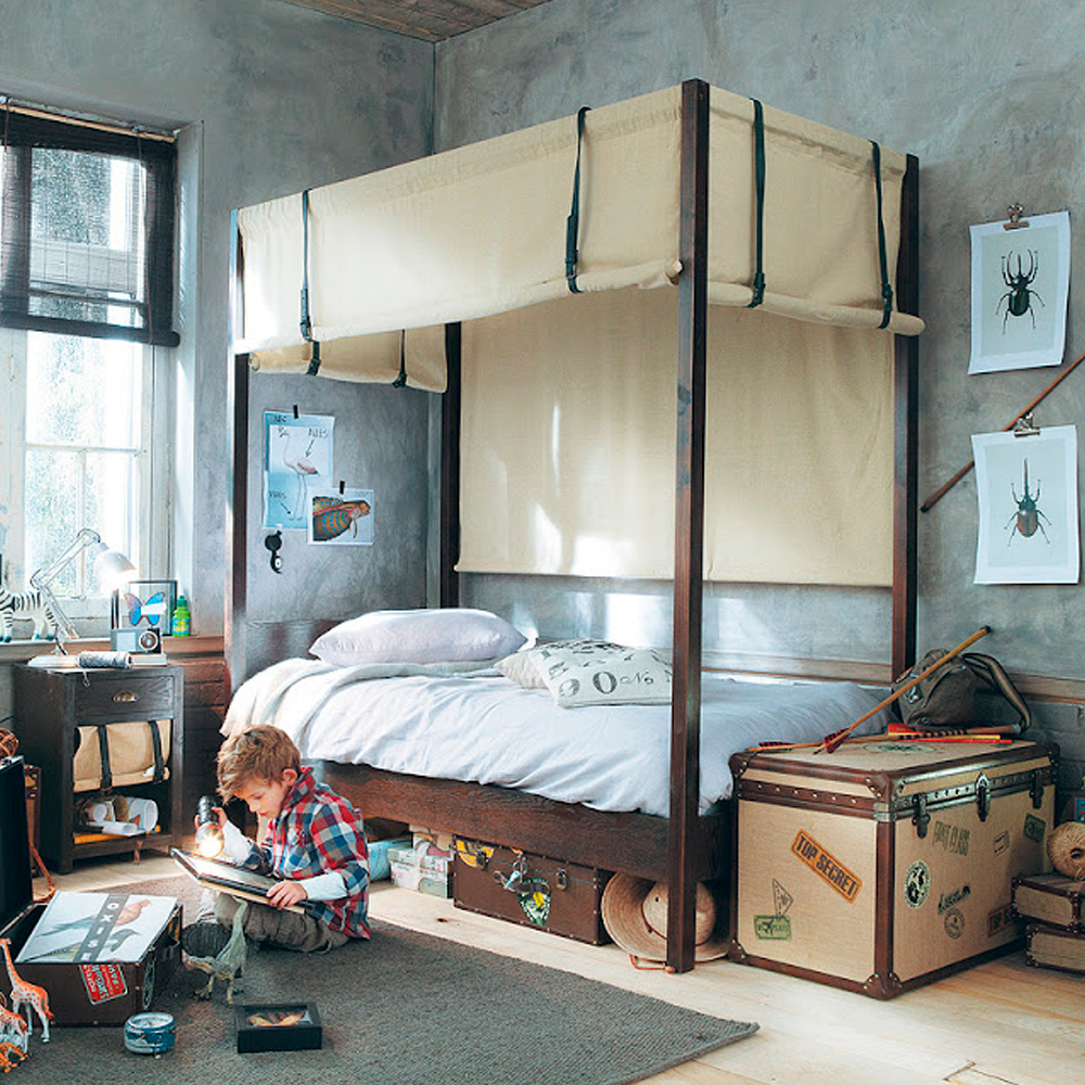 Online Bedroom: Adventure-inspiring Boys' Bedrooms