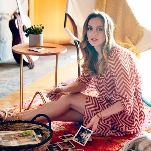 Leighton Meester's Photo Diary is a 70s dream