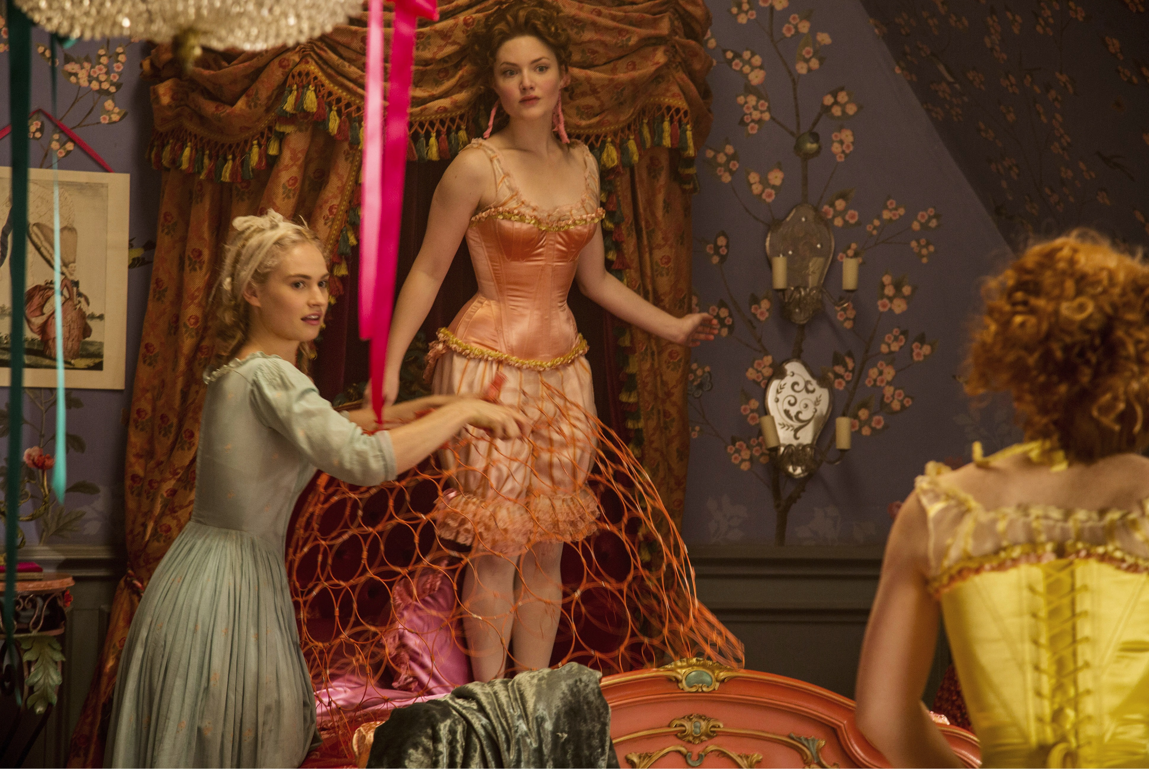 Holliday Grainger Cinderella Film Interview Celebrity