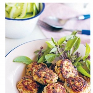 Paleo Asian chicken cakes