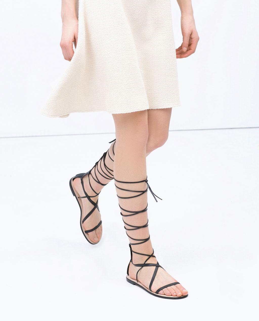 Best Flat Sandals Summer Shoes Fashion Red Online