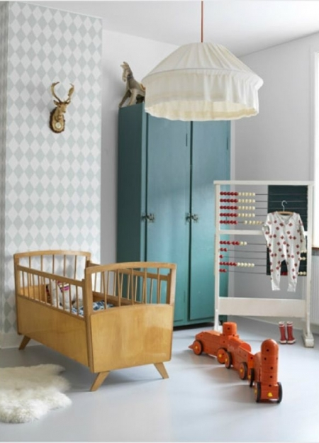 Nursery Furniture Doesnt Have To Be Boring Vintage Industrial Style Pieces Will Add Bounds Of Character While Also Providing Plenty Crucial Storage