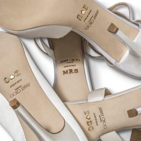 Design your dream wedding shoes