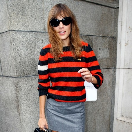 How the celebs wear their stripes