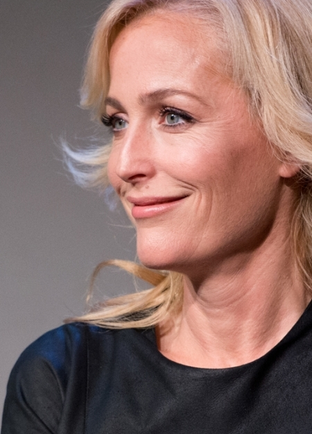 gillian anderson official website