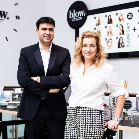 Beauty business: How I started a blow d