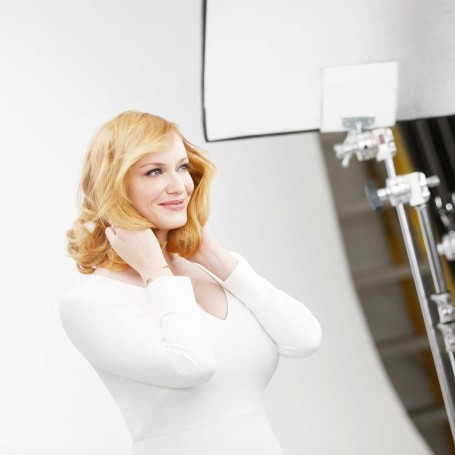 Christina Hendricks goes blonde for life after Mad Men