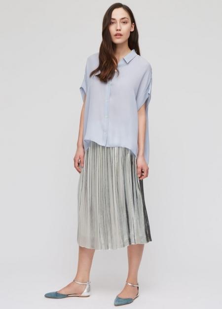 Jigsaw midi skirt | statement skirt - Red Online