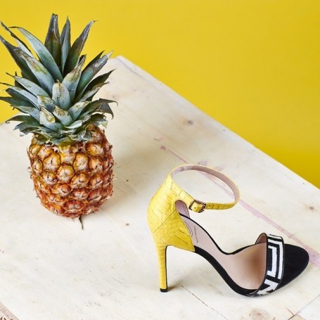 The tropical heels perfect for that summer holiday