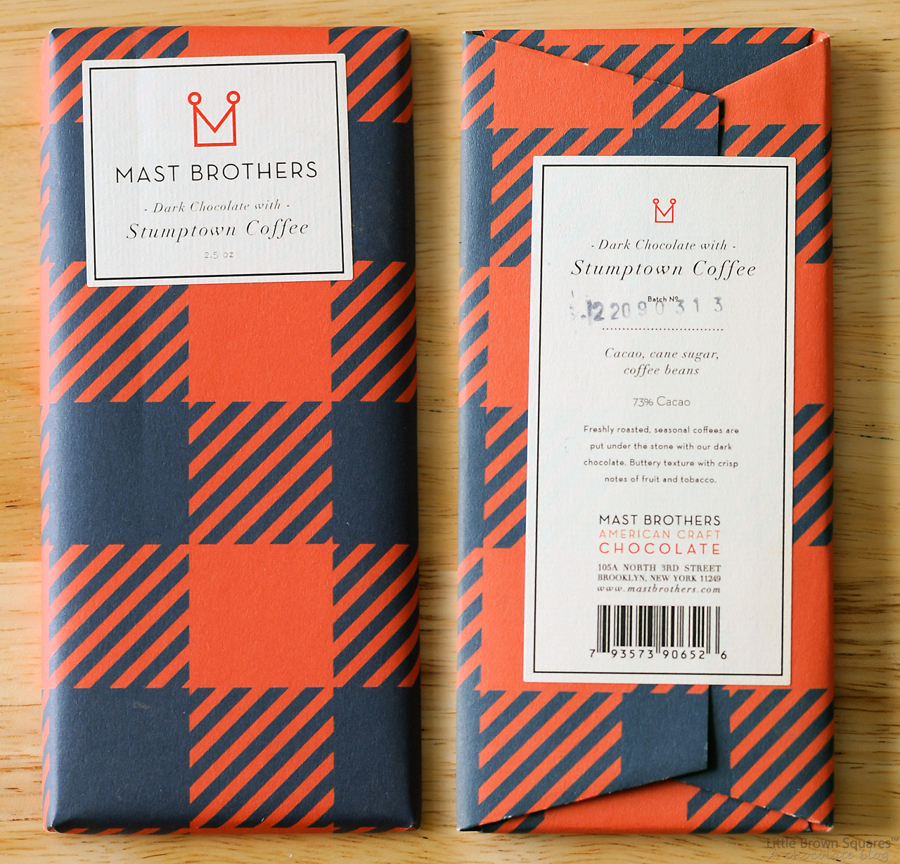 Mast Brothers Chocolate Bar - Pumpkin Chocolate Chip Cookies