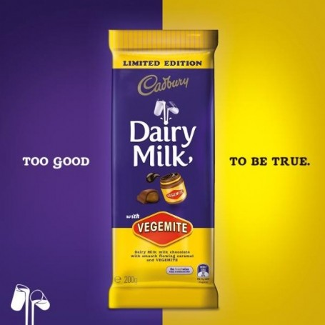 Cadbury's launch Dairy Milk… with Vegemite