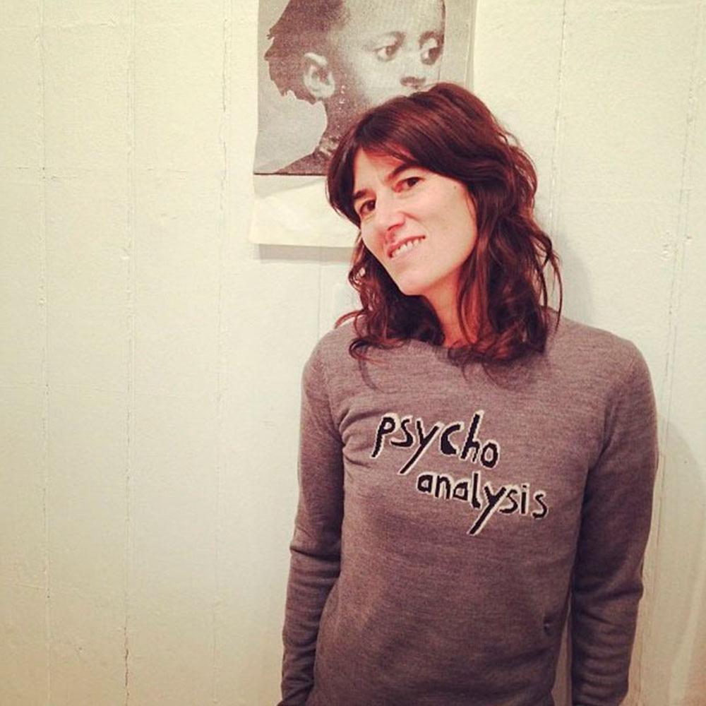 Bella Freud Celebrity Style Red Online