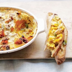 Butternut and sage strata