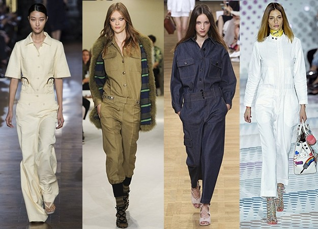 Boiler suit fashion