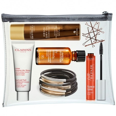 Your on-the-go frizz kit