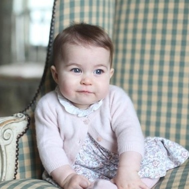 Kate Middleton shares photos of Princess Charlotte