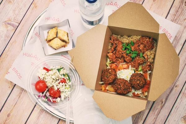 Your working lunch just got a whole lot more wholesome best this levantine eatery does a fine line in lunch time delivery bringing their boxes of falafel veg hummus chicken and pitta zooming over come 1pm forumfinder Image collections