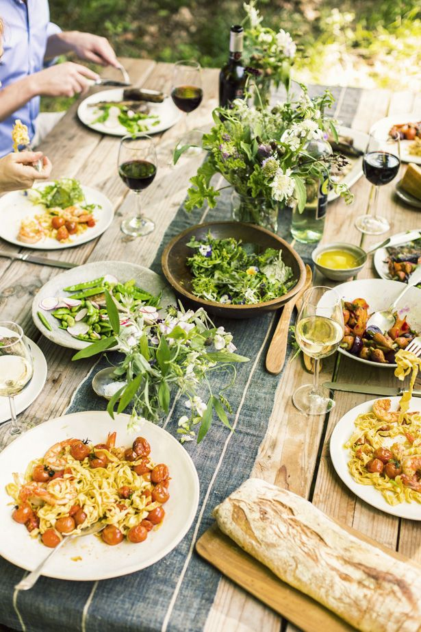 summer dinner party menu ideas
