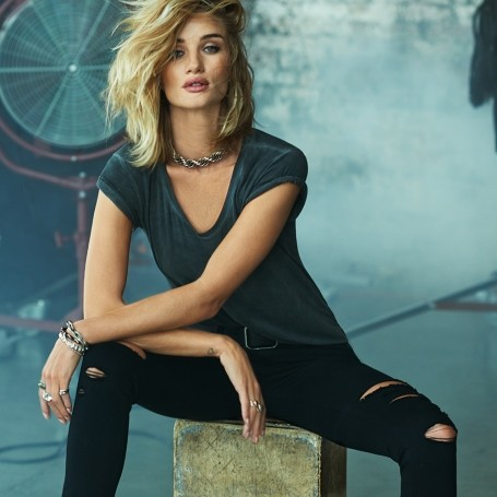 Rosie Huntington-Whiteley's new Paige jeans campaign revealed