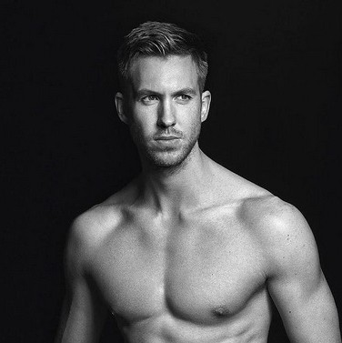 Calvin Harris' new Armani shots revealed