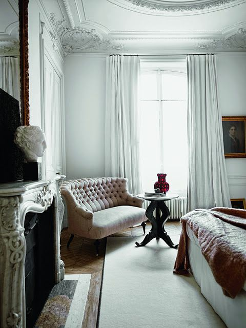 How To Decorate Your Bedroom Like A Parisian Bedroom