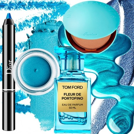 Six new (and very blue) beauty products really worth investing in this summer