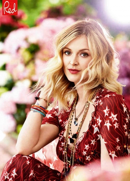 Fearne Cotton wearing Tommy Hilfiger - Red Magazine cover interview